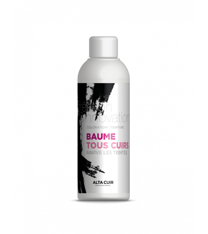 Baume colorant cuir